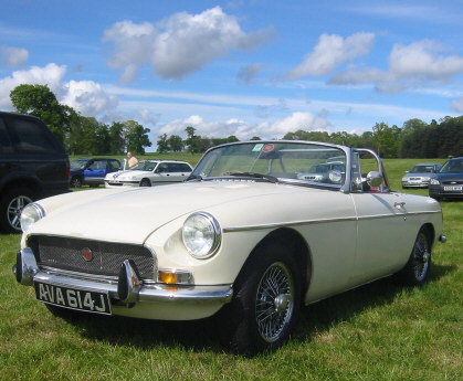 MGB at the 2007 Stoneleigh Kit car show